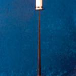 Ljusstakar - Golvljusstake för grovt ljus.